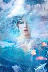 Miss Sky Blue by Phatpuppyart-Studios