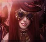 Steampunk Chic by Phatpuppyart-Studios