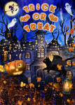 Trick or Treat by Phatpuppyart-Studios