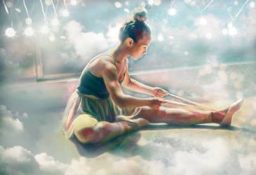 Cloud Dancer by Phatpuppyart-Studios