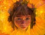 Flower in the Sun by Phatpuppyart-Studios