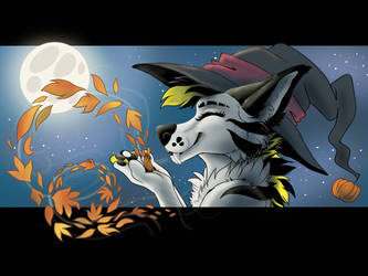 Chinga  the autumn witch by ArtyMadCow