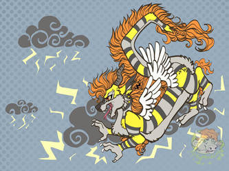 Sparks the thunder dragon