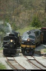Steam meeting Diesel by 3window34