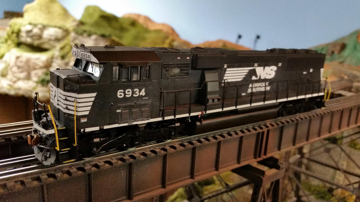 Another NS SD60E by 3window34