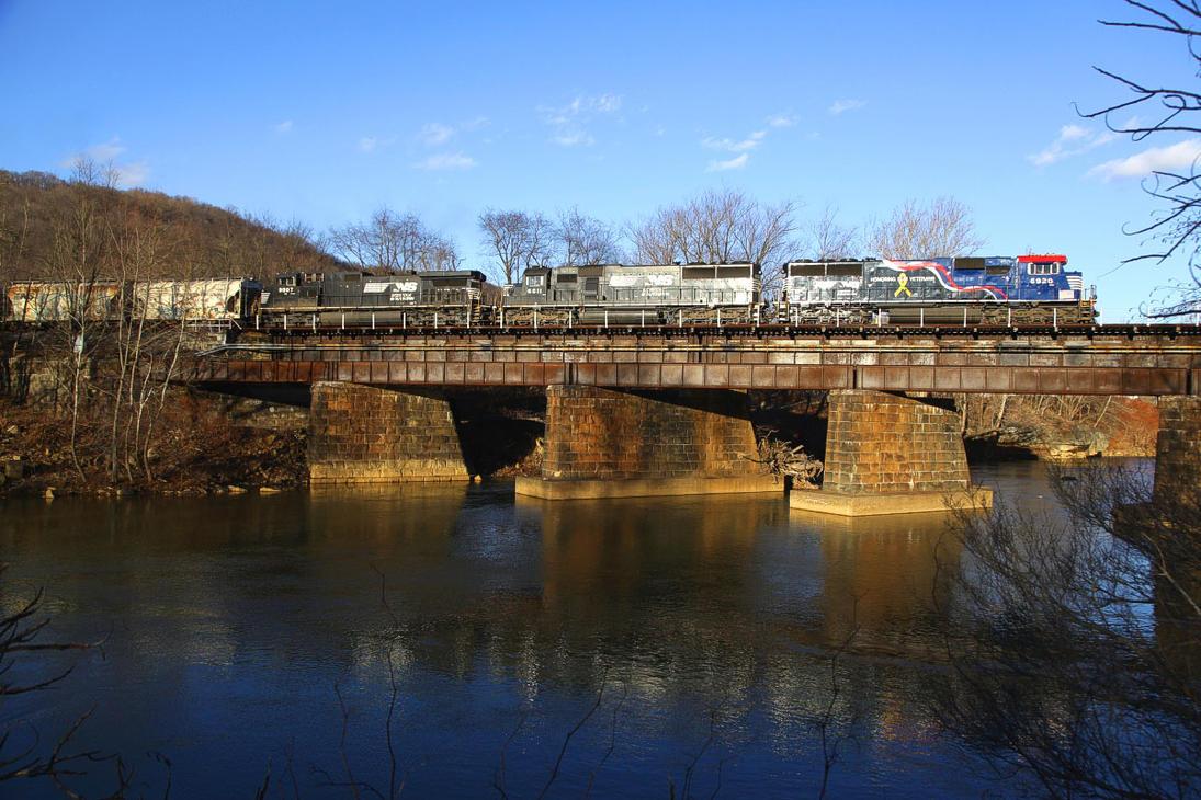 Crossing a Bridge by 3window34