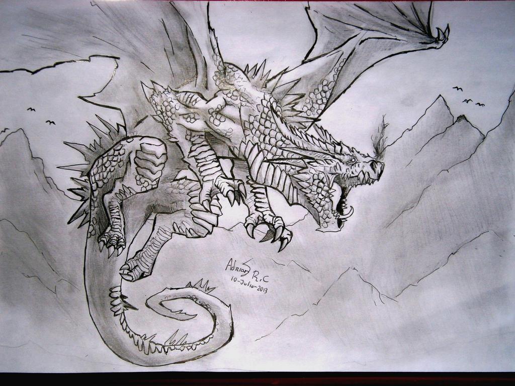 Khu-ham,The dragon of the mountains by Khov97