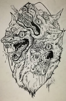 Demonic guardian commission by Khov97