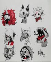 8 mask  by Khov97