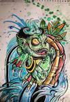 Kappa Demon of the Swamp