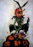 Cornfield Pumpkin - Day of the dead contest