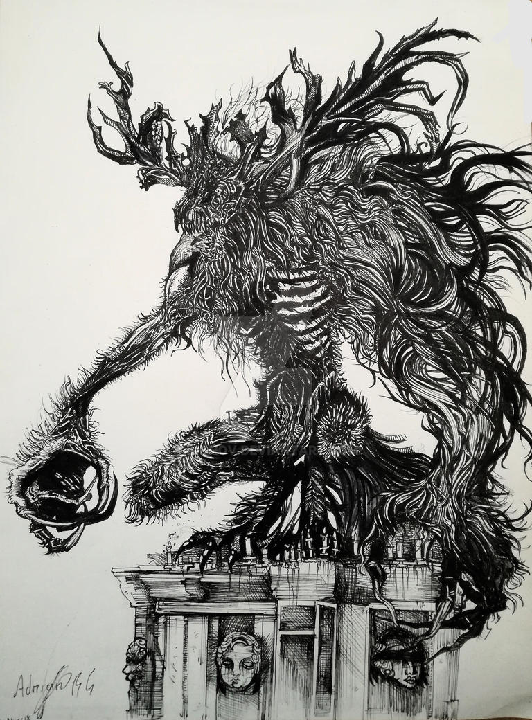 Cleric Beast by Khov97