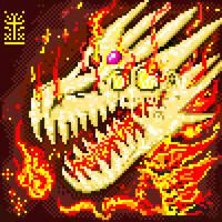 Firehead Dragon PixelArt by Khov97