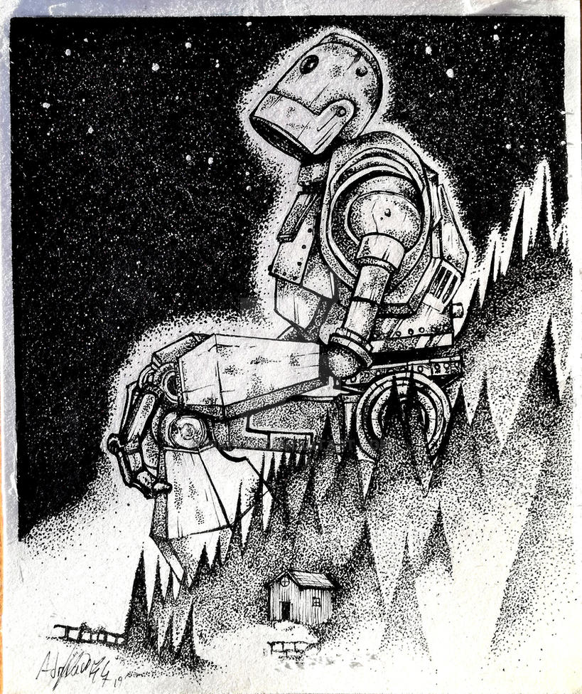 The Iron Giant by Khov97