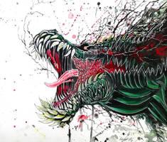Deviljho Gouache by Khov97