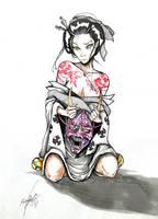 Maiko Geisha by Khov97