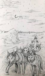 6-Husky by Inkhov