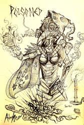 Poisoned Plague Alchemist