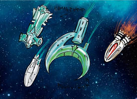 Spaceships Tests