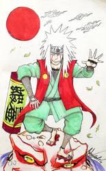 Jiraiya Legendary Sannin Wise Pervert Hermit