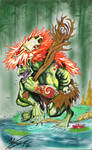 the troll of the scarlet swamp