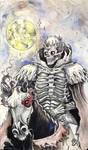 Berserk Skull Knight by Inkhov