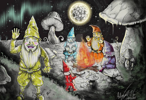 Crayon Gnomes Commision