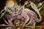 Magnamalo Monster Hunter by Inkhov