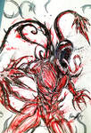 Drawing Venom let there be carnage by Inkhov