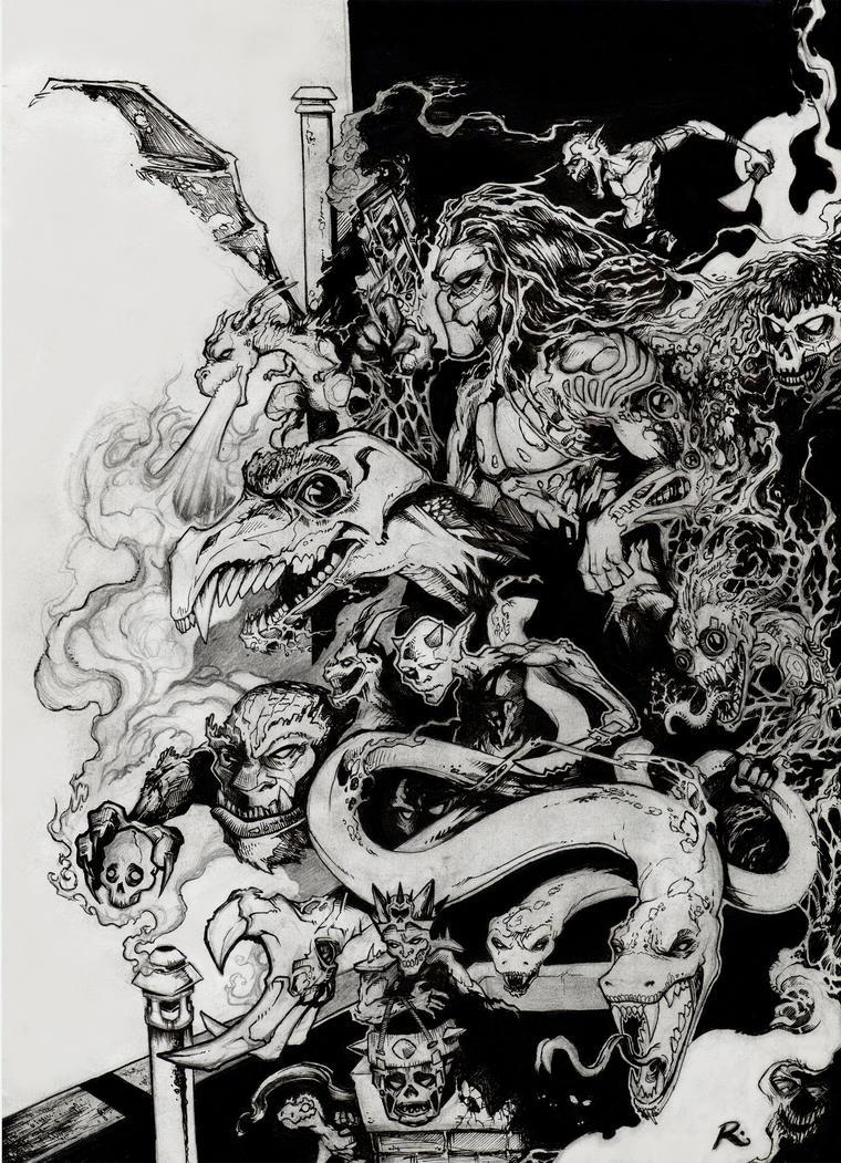 The Darkness - fanart by DoctorSaturno