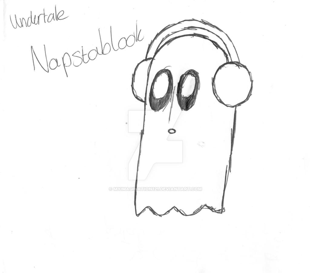 Undertale Napstablook By Myimagination121 On Deviantart