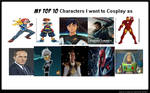 My Top 10 Cosplays