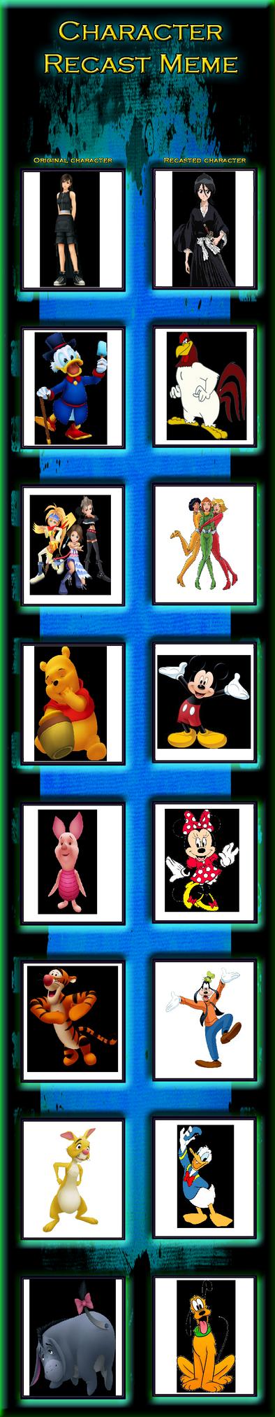 DW95's Kingdom Hearts Cast Part 15 by Dark-Warrior95