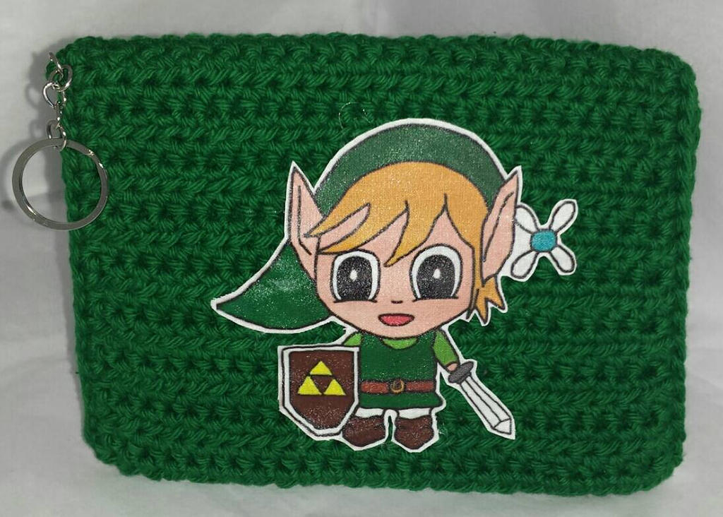 Fan Wallets - Link and Zelda by JoyWeaver