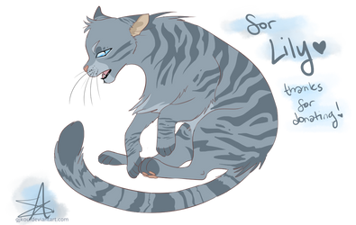 [UNICEF COMM] Jayfeather for CattyCutie