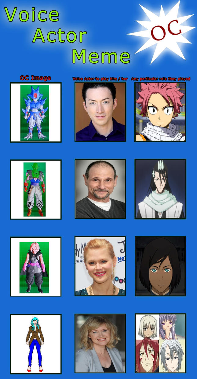 DBX and OC Voice cast by 17Chaos