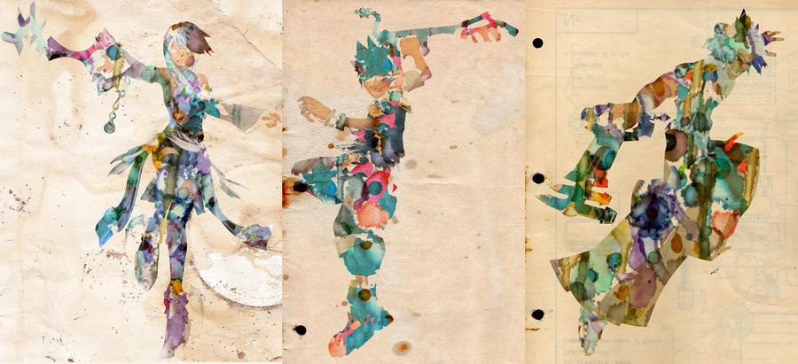 Trio Watercolor