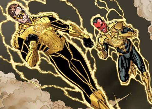 Hal Jordan: Yellow Lantern