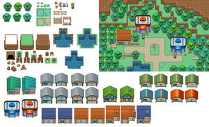 Public Tileset by The-Red-eX