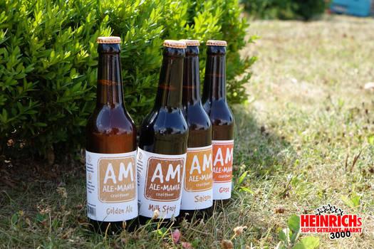 AM Ale-Mania - Craftbeer Vier in einem