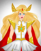 She-Ra by LunaryartOwO