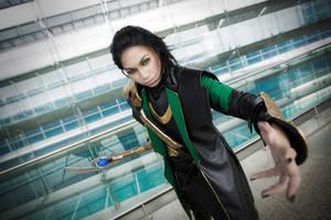 Loki: Come Here You Pesky Mortal by yinami