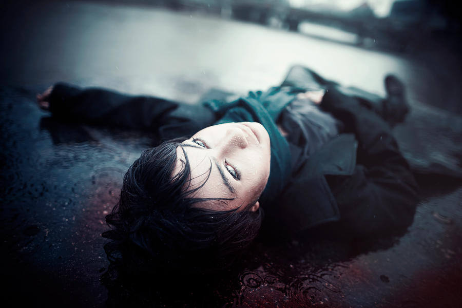 Sherlock: The Fall of Reichenbach by yinami