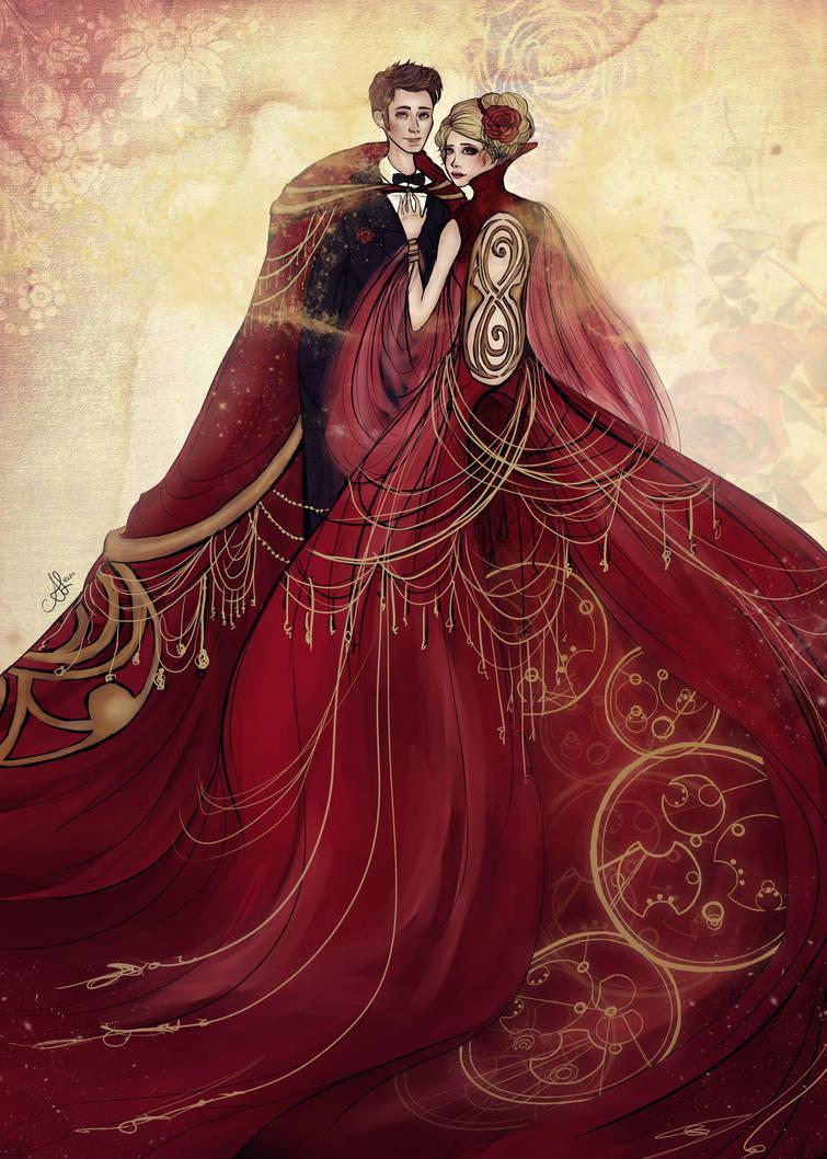 Gallifreyan Wedding by yinami