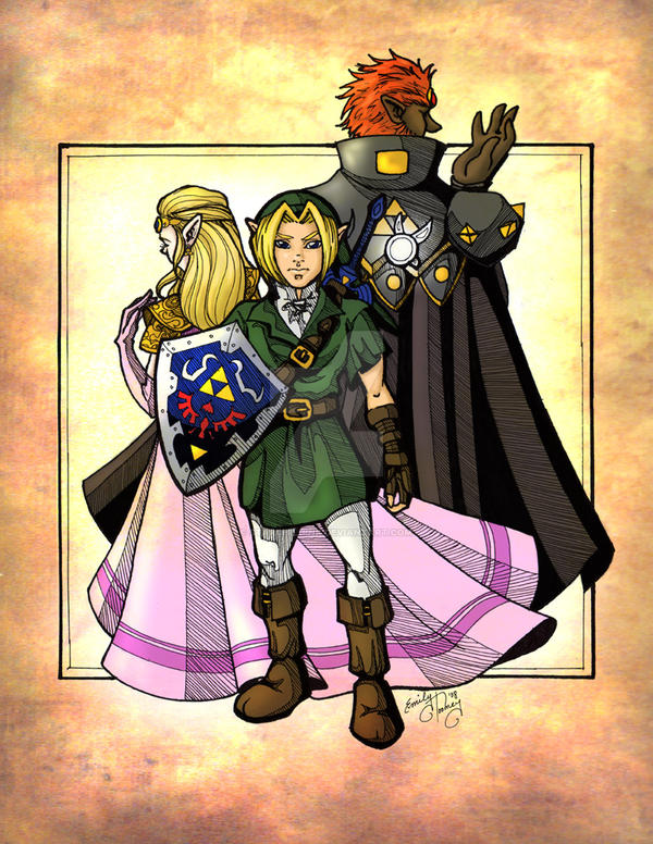 +Triforce+ by direndria
