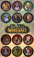 Warcraft Buttons