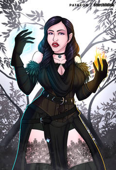 The Witcher 3 - Yennefer