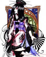 Not Quite a Geisha...