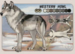 Adoptable: Western Howl (CLOSED)