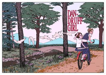 'Dandruff Girl' by AfuChan